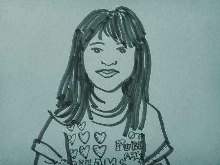 daughter doodle
