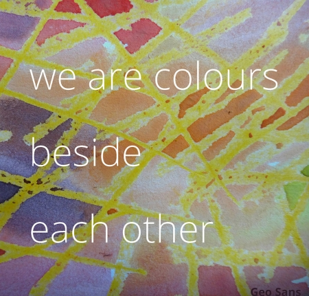 We Are Colours